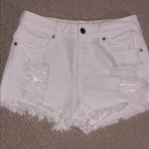 Kendall & Kylie White Shorts
